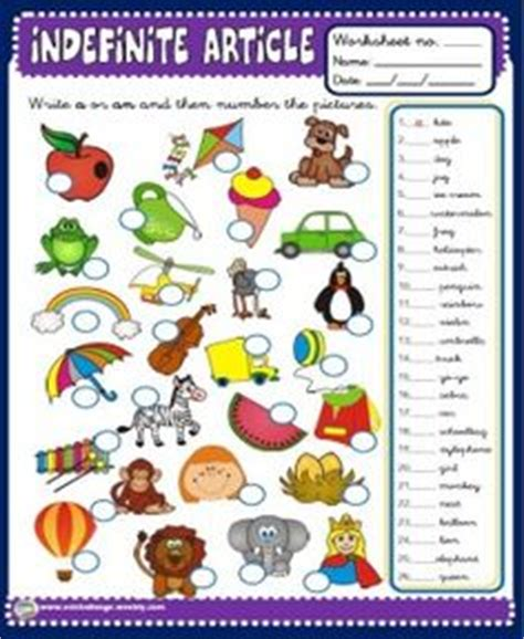 indefinite articles   images english