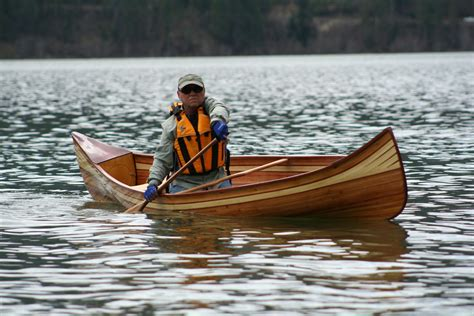 Canoe Boat by Wood Gallery Heirloom Paddle Sports