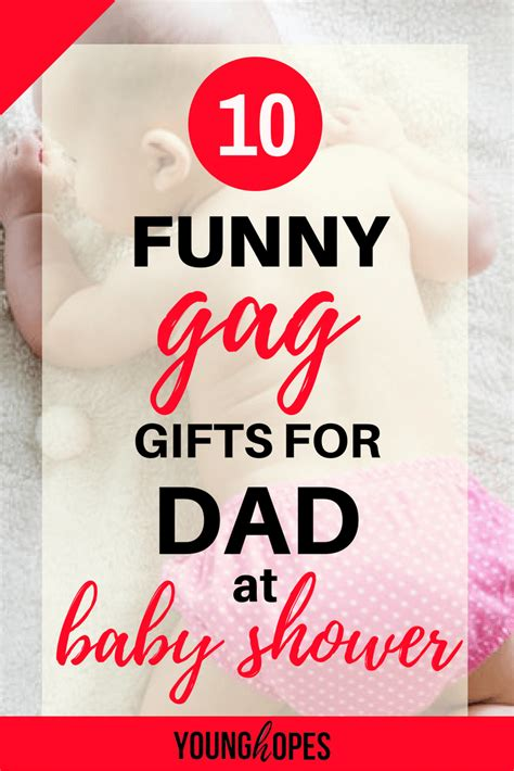 funny gag gifts  dad  baby shower  wont