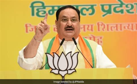 BJP President JP Nadda: Middlemen, Not Farmers, Behind ...