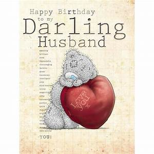 Me to You Happy Birthday to My Darling Husband Love You ...