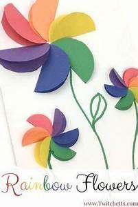 Einfache Papierblume Basteln : kunterbunte papierblumen idee basteln im sommer basteln blumen und kinder ~ Eleganceandgraceweddings.com Haus und Dekorationen