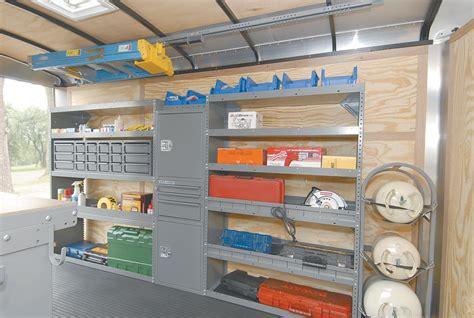 nissan box van cargo trailer shelving ideas by adrian steel