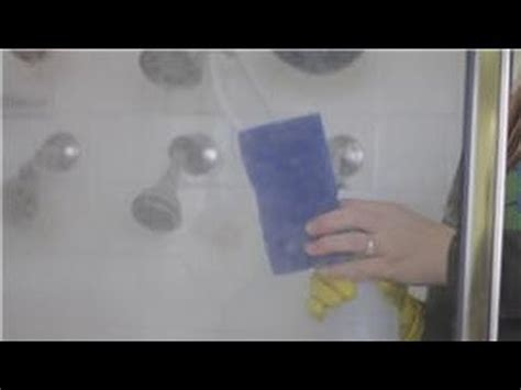 How To Remove Water Stains From Glass Shower - bathroom cleaning how do i clean water spots on