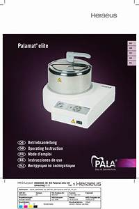 Palamat Elite Operating Instructions March 2012 Pdf Download