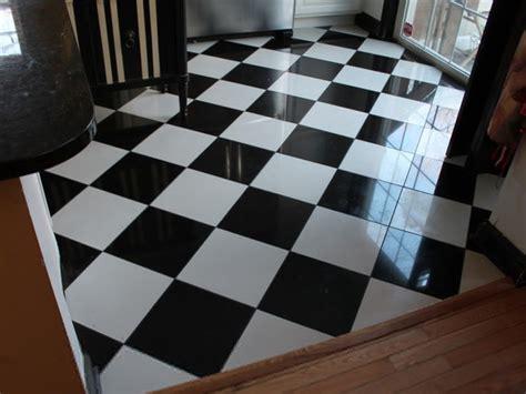 black  white tile floor installation nj monks home