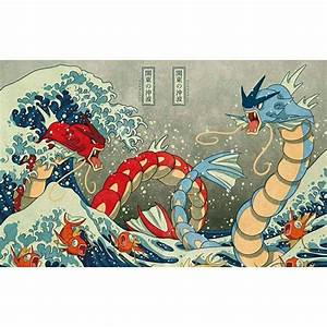 gyarados the great wave - Google Search | Pokemon ...