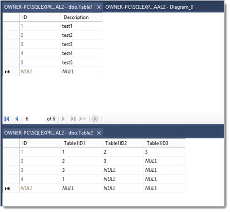 update sql join two tables within a sql server view how to combine multiple column