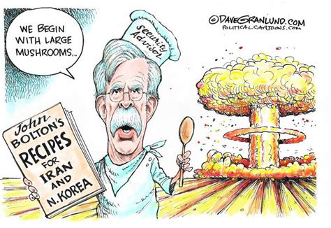 John Bolton Cartoon