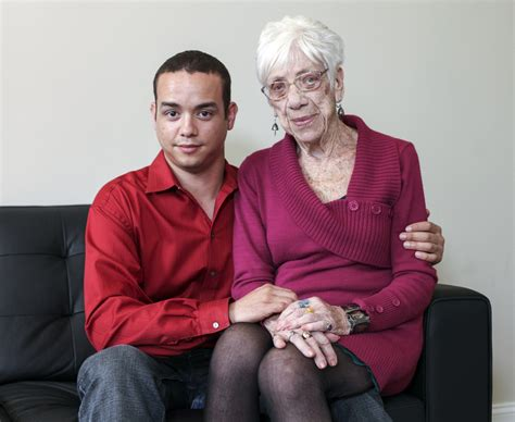 This 31 Year Old Guy Is Dating A 91 Year Old Grandmother