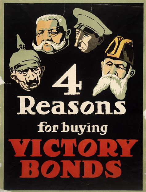 4 Reasons For Buying Victory Bonds  Digital Archive  Toronto Public Library