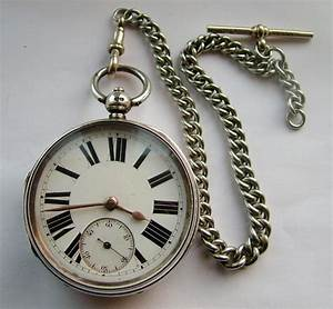 1890 George Aaronson Fusee Pocket Watch & Chain | 312290 ...