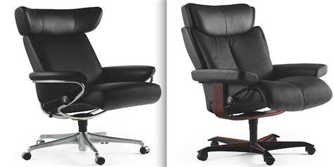 siege stressless stressless lance une gamme de fauteuils de bureau