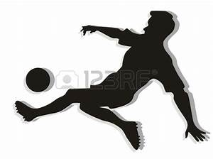 Soccer player in action, | Clipart Panda - Free Clipart Images