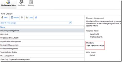 Performing Multi Mailbox Search Exchange Ideas