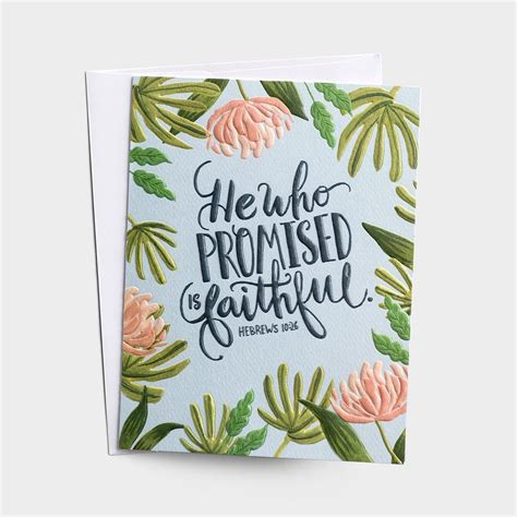 Each day's card features a different. Encouragement - He Who Promised - 3 Premium Studio 71 Cards   Christian cards, Christian ...