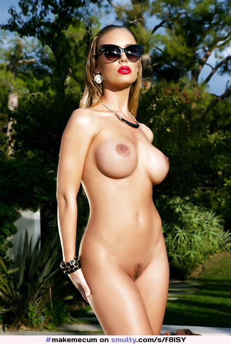 NicoleAniston Opulent Blonde Busty Nakedpussy Hot