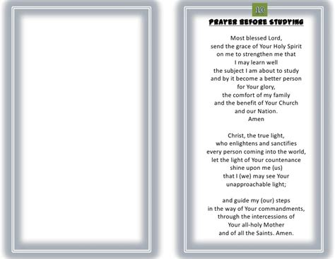 Let Your Light Shine by Student Prayer 1