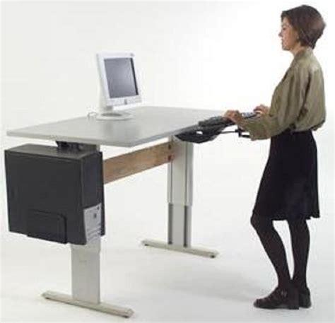 Activity Station Desk by Height Adjustable Standing Desk And Computer Workstation