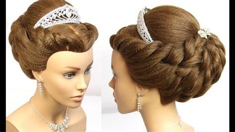 Wedding Updo. Bridal Prom Hairstyle For Long Medium Hair