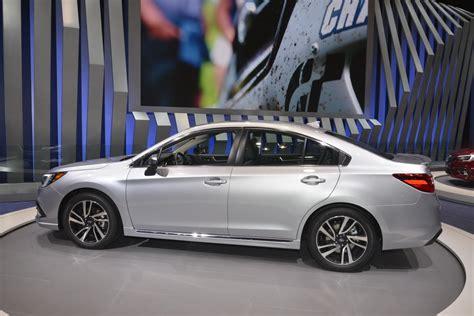 legacy subaru 2018 subaru legacy brings subtlety to chicago auto show