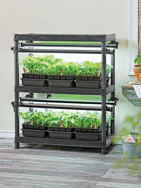 grow lights for stack n grow light system exclusively from gardener s supply