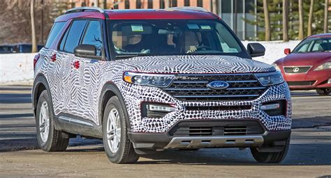 ford explorer shows  face
