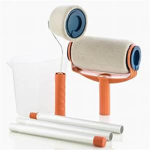 achat vente kit rouleaux a peinture reservoir integre With rouleau peinture avec reservoir