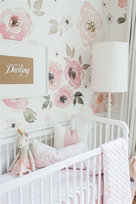 baby girl nursery wallpaper group   items
