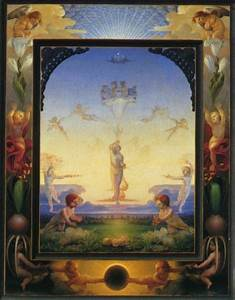Berühmte Kunstwerke Der Romantik : philipp otto runge der morgen 1808 die zeiten 1807 ~ One.caynefoto.club Haus und Dekorationen
