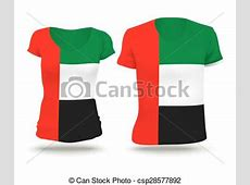 Flag shirt design of uae Flag shirt design of united arab