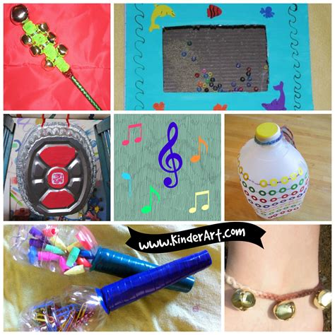 Easy To Make Musical Instruments For Kids Kinderart K12