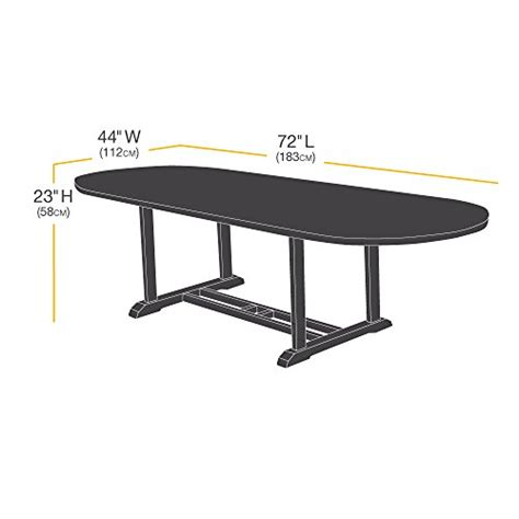 amazonbasics dining table patio cover 72 inch garden