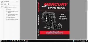 Mercury Marine 200 Optimax Jet Drive Service Manual 90