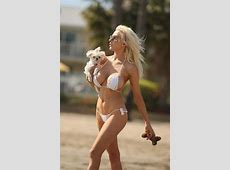 COURTNEY STODDEN in Bikini at a Beach in Los Angeles
