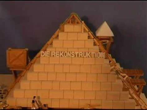 pyramide selber bauen die rekonstruktion der 228 gyptischen pyramiden
