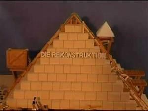 Pyramide Aus Holz Selber Bauen : die rekonstruktion der gyptischen pyramiden youtube ~ Lizthompson.info Haus und Dekorationen