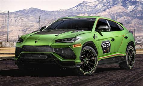 Lamborghini Urus St-x Concept Is A Track-ready Super Suv