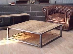 les 25 meilleures idees de la categorie table basse With marvelous photos de meubles de salon 13 bureau www style deco industriel fr