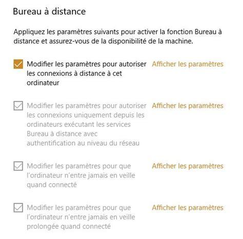 activer bureau à distance activer bureau a distance 28 images windows server
