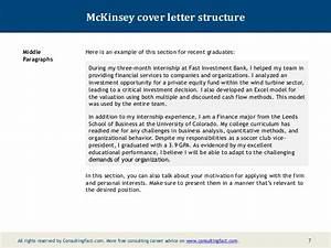 Mckinsey Cover Letter Example Mckinsey Cover Letter Sample