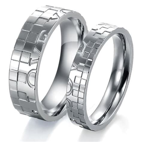 puzzle wedding rings puzzle wedding