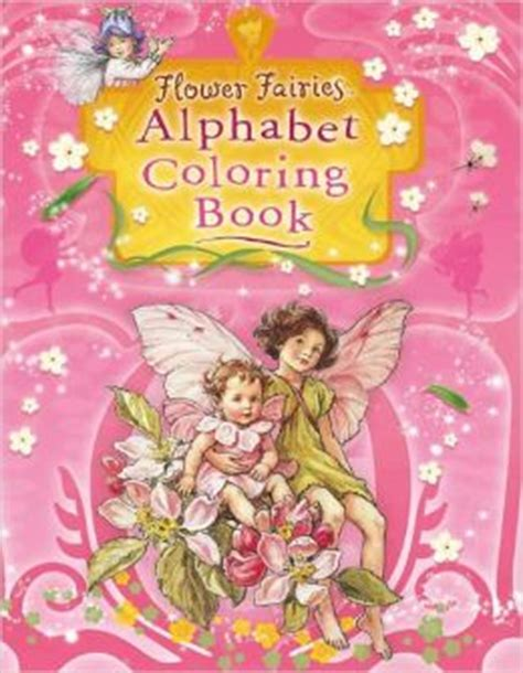 flower fairies alphabet coloring book  cicely mary barker  paperback barnes