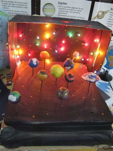 maquetas del sistema solar buscar con planetario pinterest solar and sistema solar