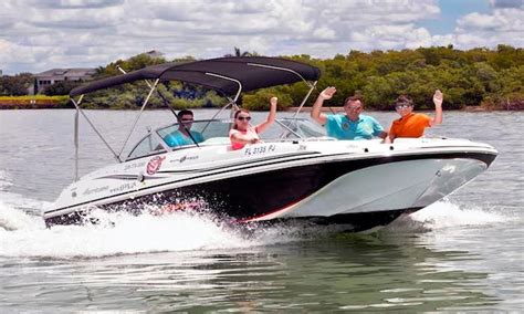 Naples Boat Rentals Groupon by Boat Rental Naples Family Spot Groupon