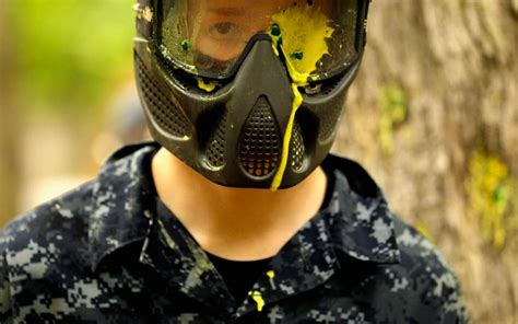 Just how dangerous is paintballing?