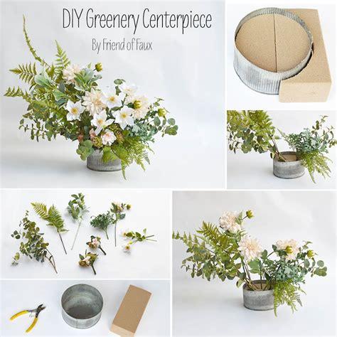 diy greenery centerpiece   set  table diy