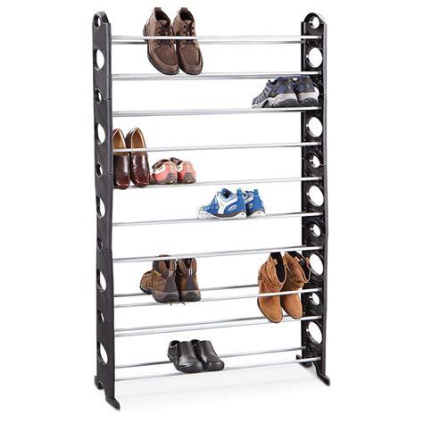 50 pair shoe rack 50 pair shoe rack 283206 housekeeping storage at