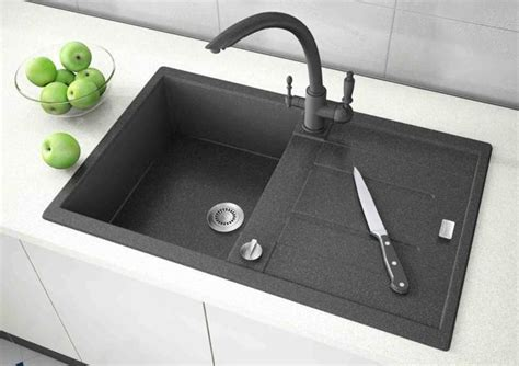 black kitchen sink faucets black kitchen sinks countertops and faucets 25 ideas