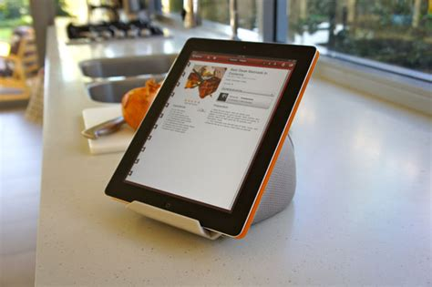 support cuisine tablette iprop des supports universels pour tablettes tactiles